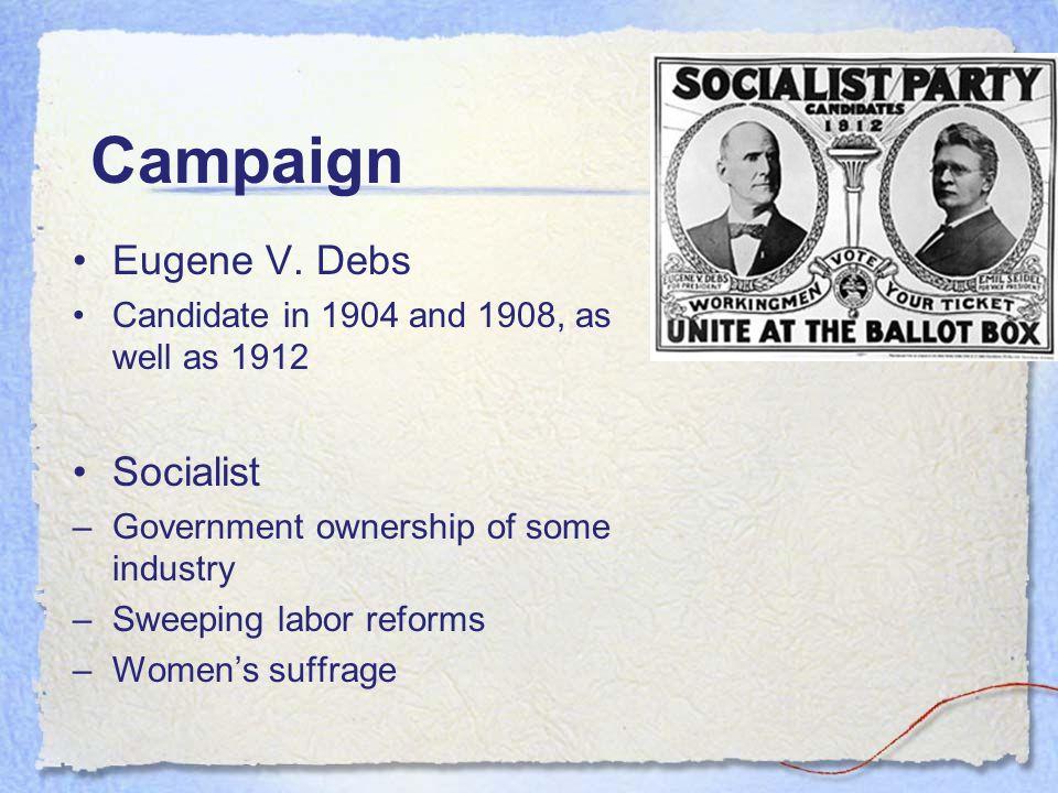 Campaign Eugene V.
