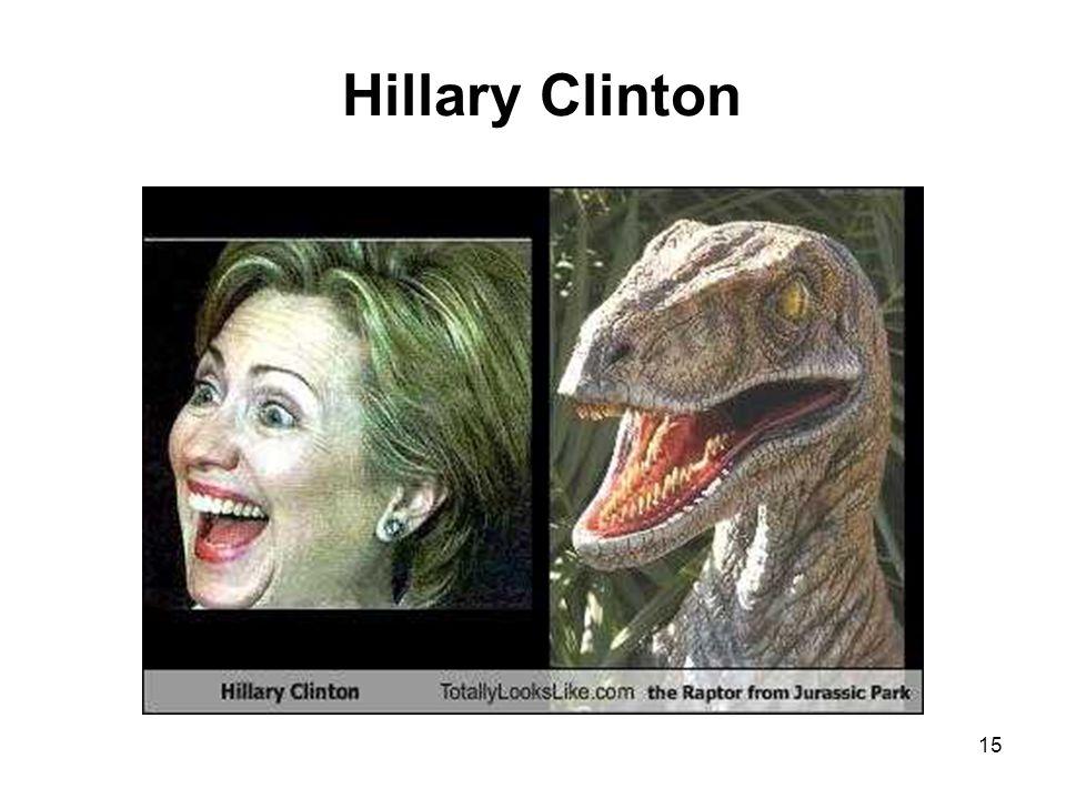 15 Hillary Clinton