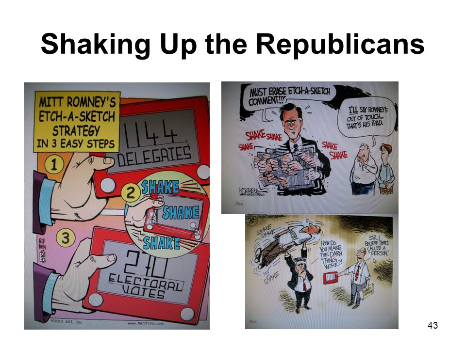 Shaking Up the Republicans 43
