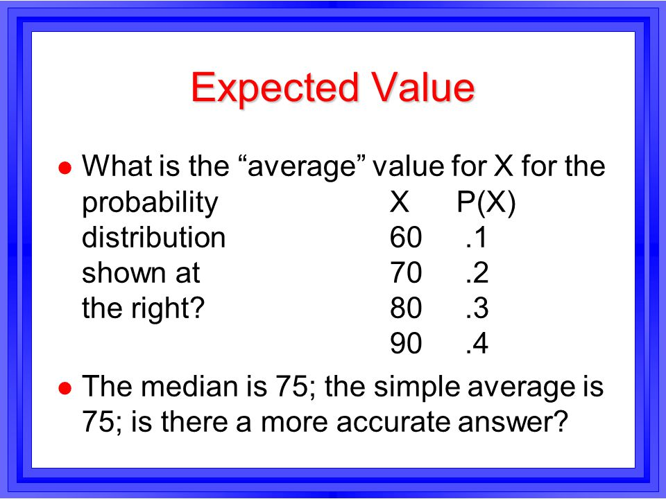 Expected Value, Page 2 l.l.