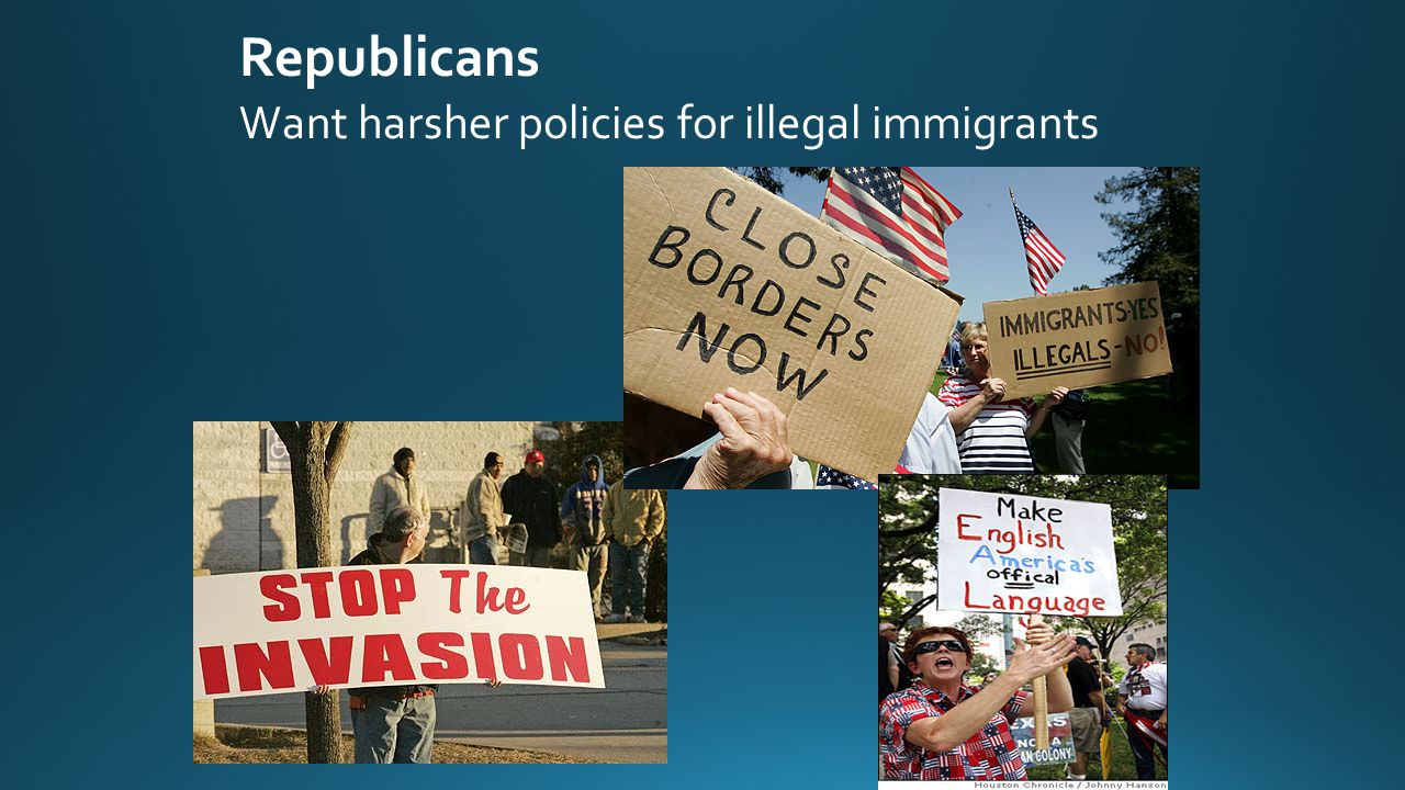 Republicans Want harsher policies for illegal immigrants