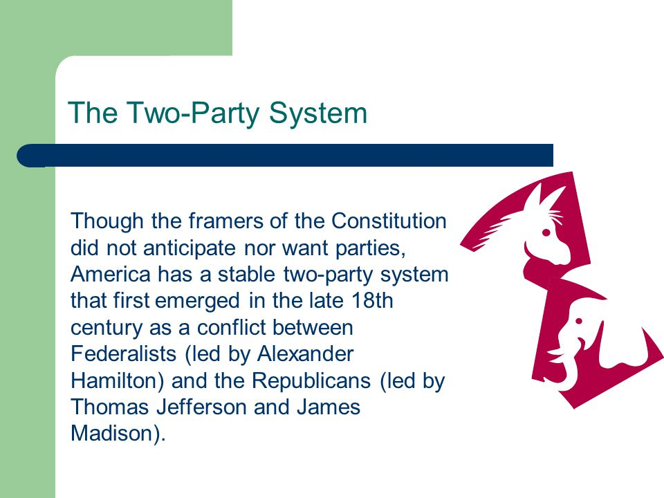 Party Decline According to political scientist V.O.