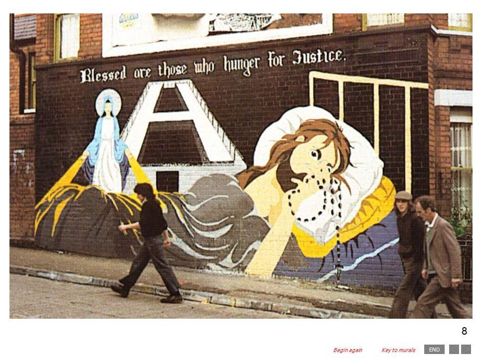 END 8 Key to muralsBegin again