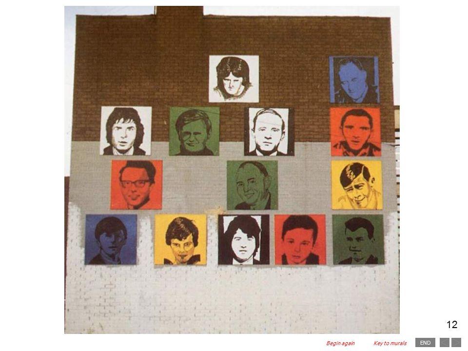 END 12 Begin againKey to murals