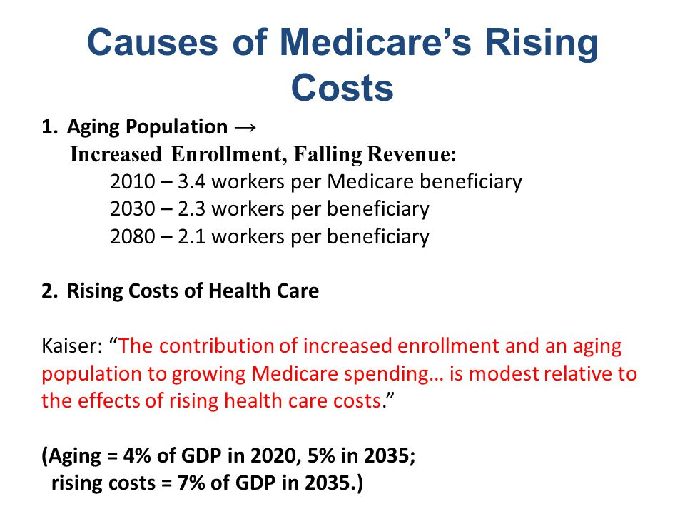 2009 Medicare Trustees Report: Insolvency by 2018 ($billions)