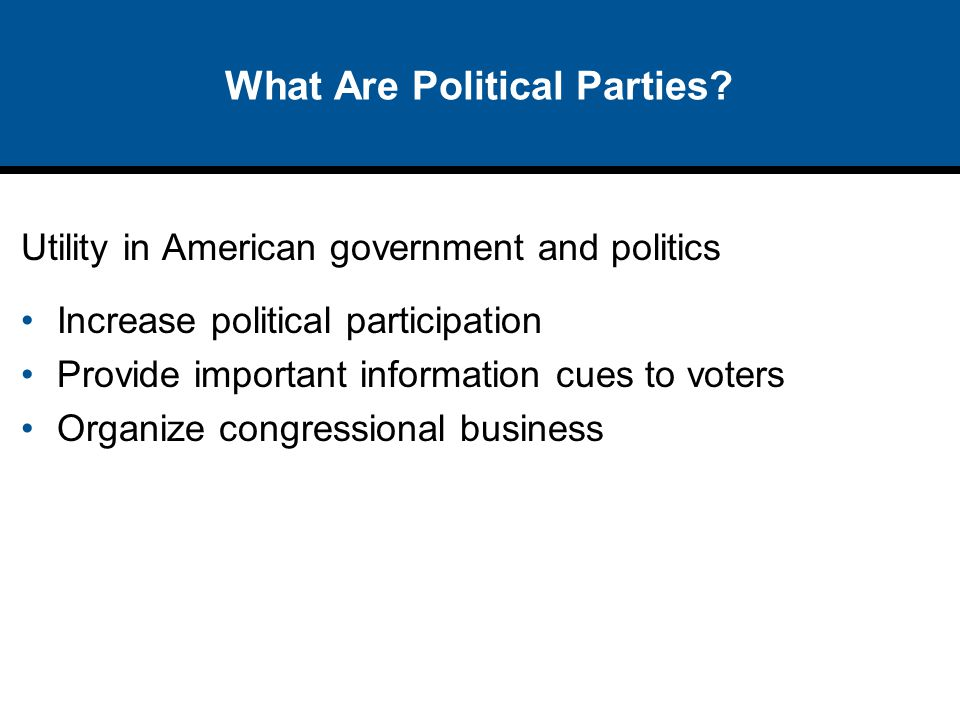 Public Opinion Poll There is ongoing debate about whether Americans are politically polarized or not.