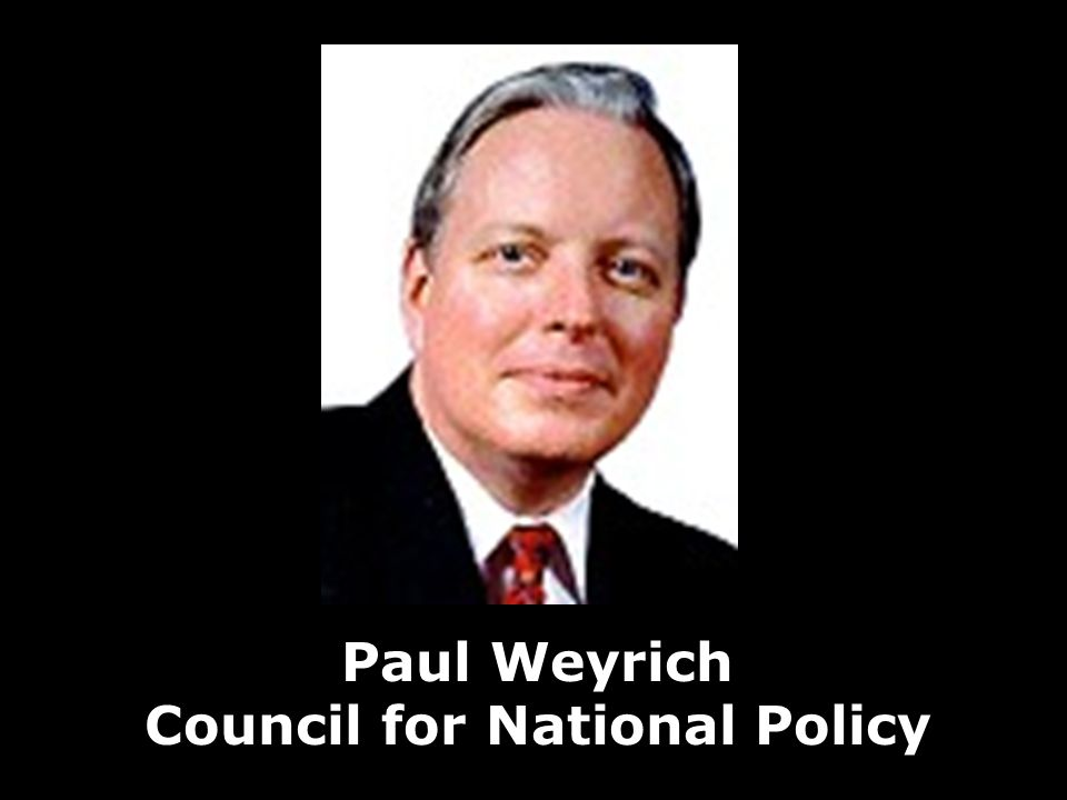 Paul Weyrich Council for National Policy