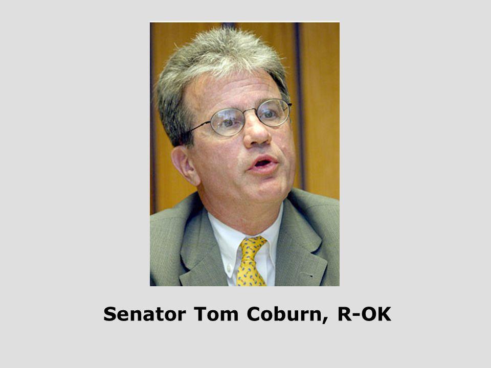Senator Tom Coburn, R-OK