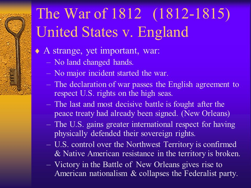 Foreign Policy Crisis 25 Years of War in Europe  Chesapeake Incident (1807) – The U.S.S.