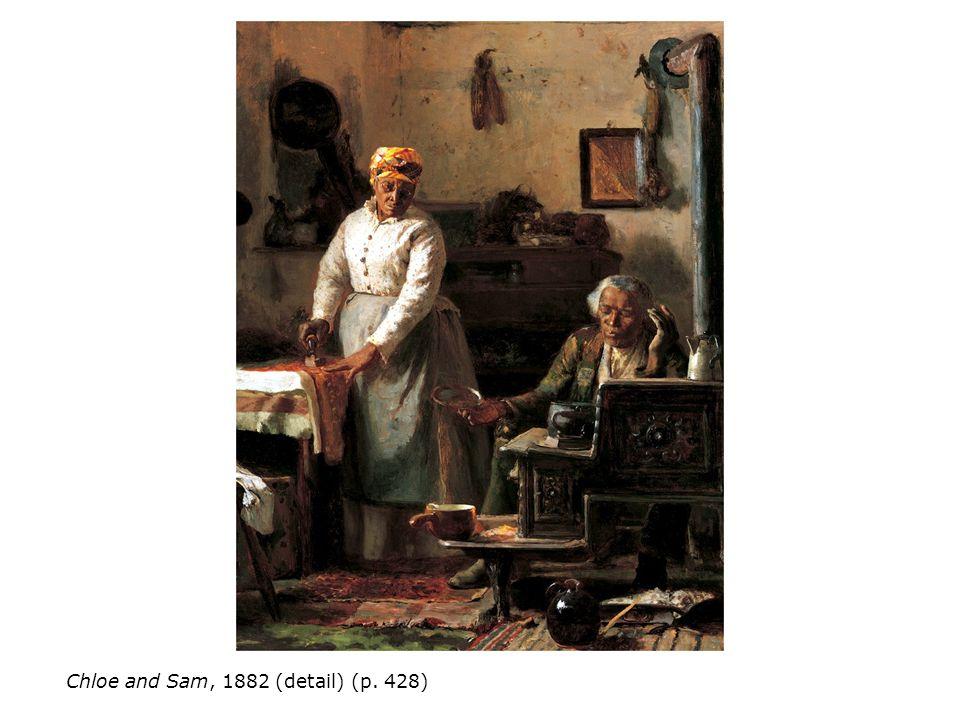 Chloe and Sam, 1882 (detail) (p. 428)