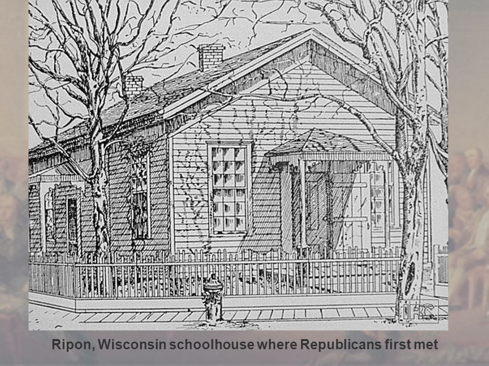 Ripon, Wisconsin schoolhouse where Republicans first met