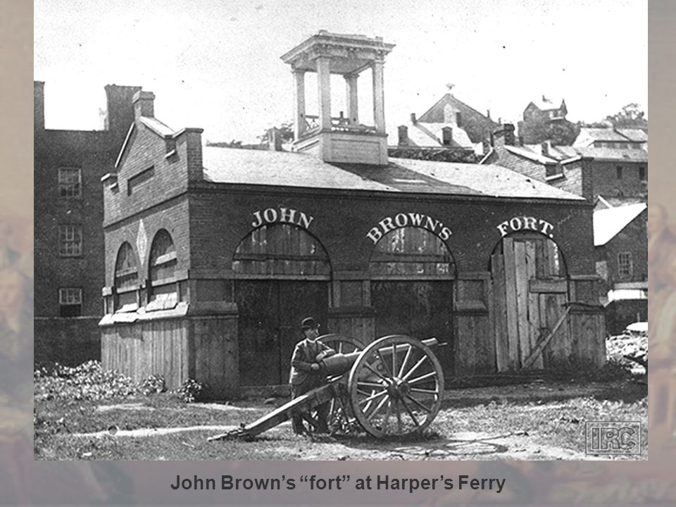 John Brown's fort at Harper's Ferry