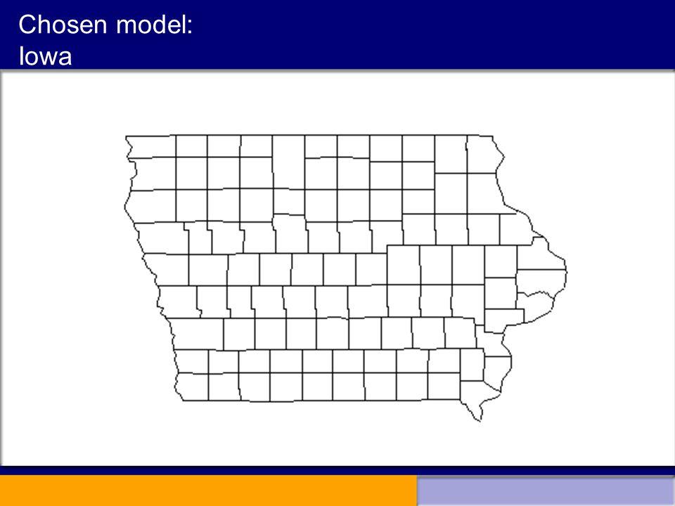 Chosen model: Iowa