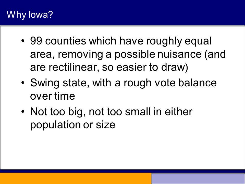 Why Iowa.
