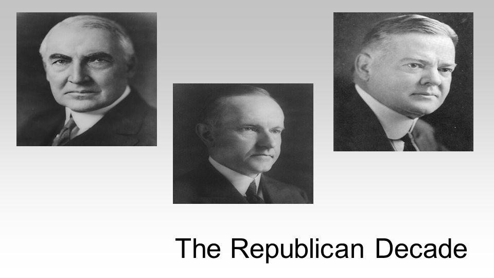 The Republican Decade