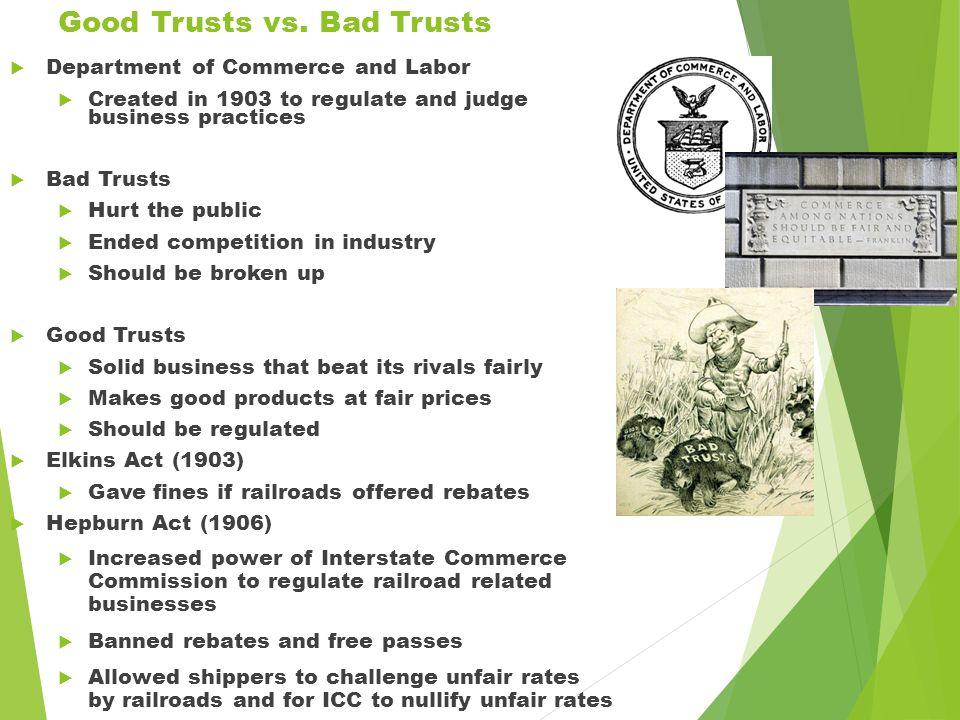 Good Trusts vs.
