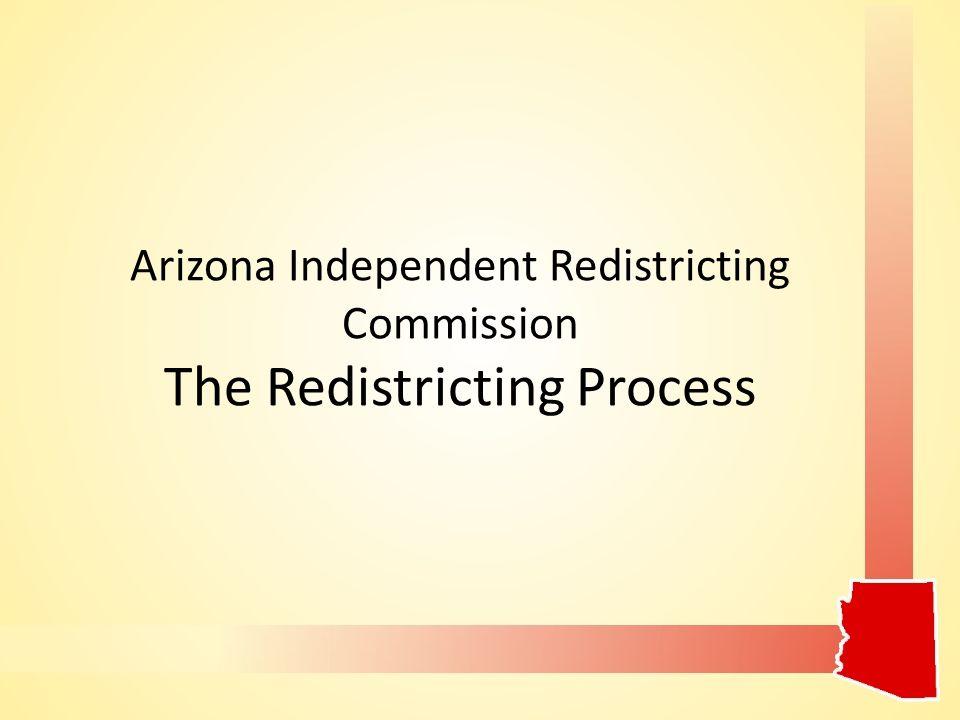 Arizona Independent Redistricting Commission I' Yep Piw Puuhut aw Antsani'ywisni