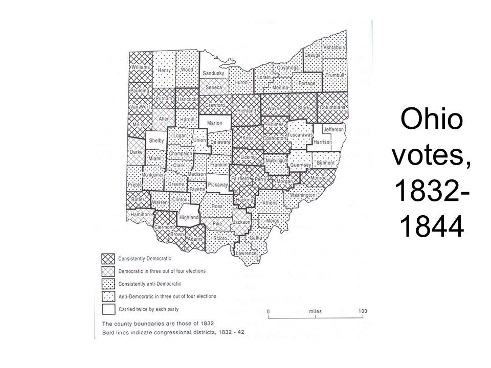 Ohio votes, 1832- 1844