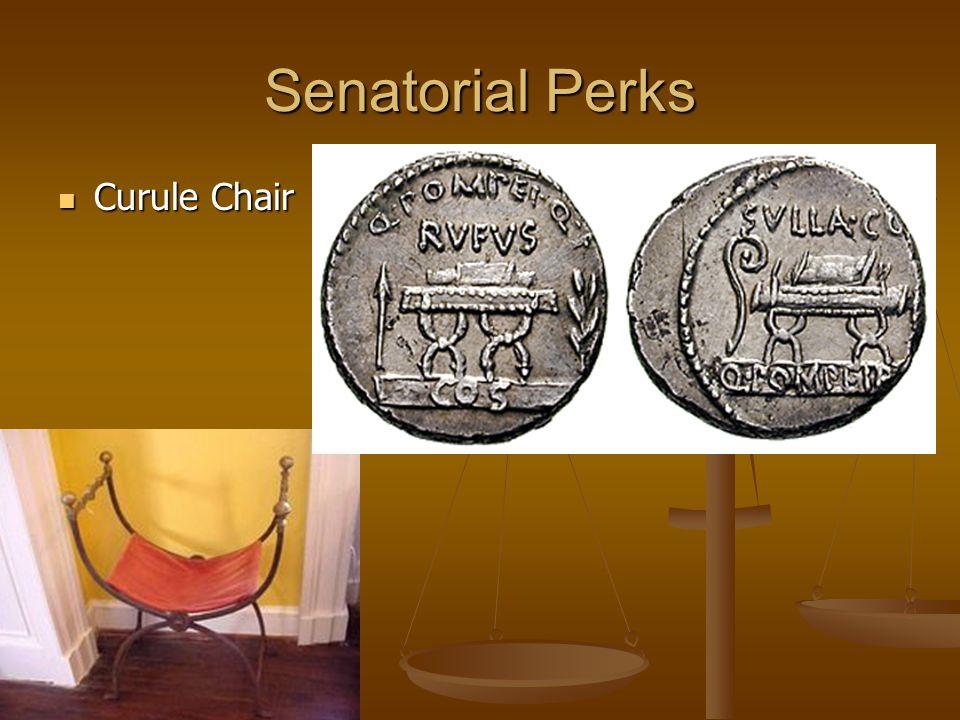 Senatorial Perks Curule Chair Curule Chair