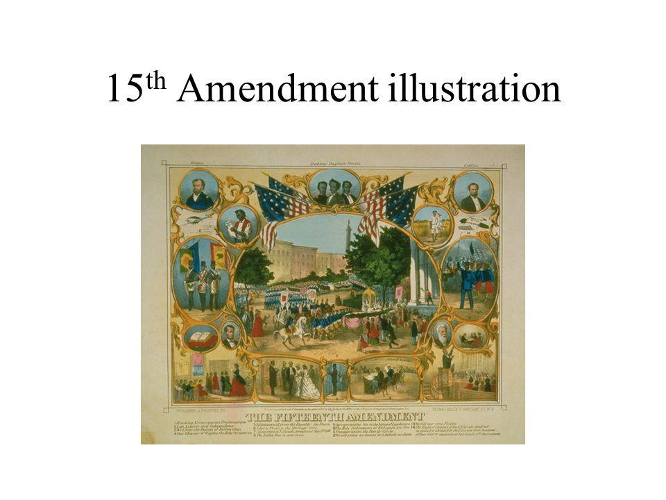 15 th Amendment illustration