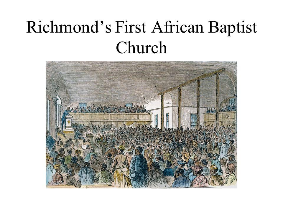 Richmond's First African Baptist Church