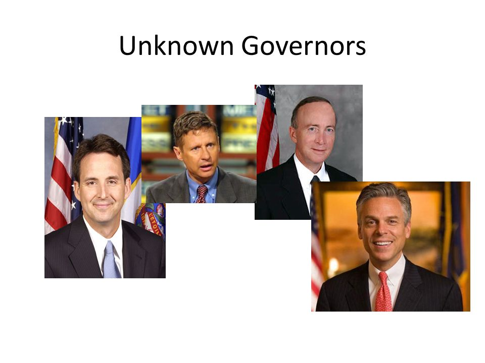 Unknown Governors