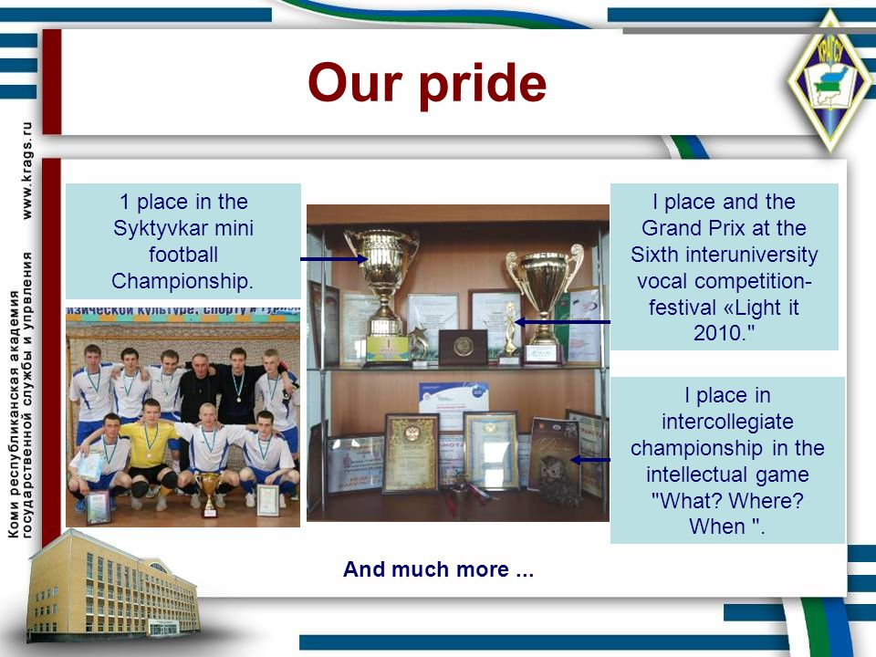 Our pride I place and the Grand Prix at the Sixth interuniversity vocal competition- festival «Light it 2010.