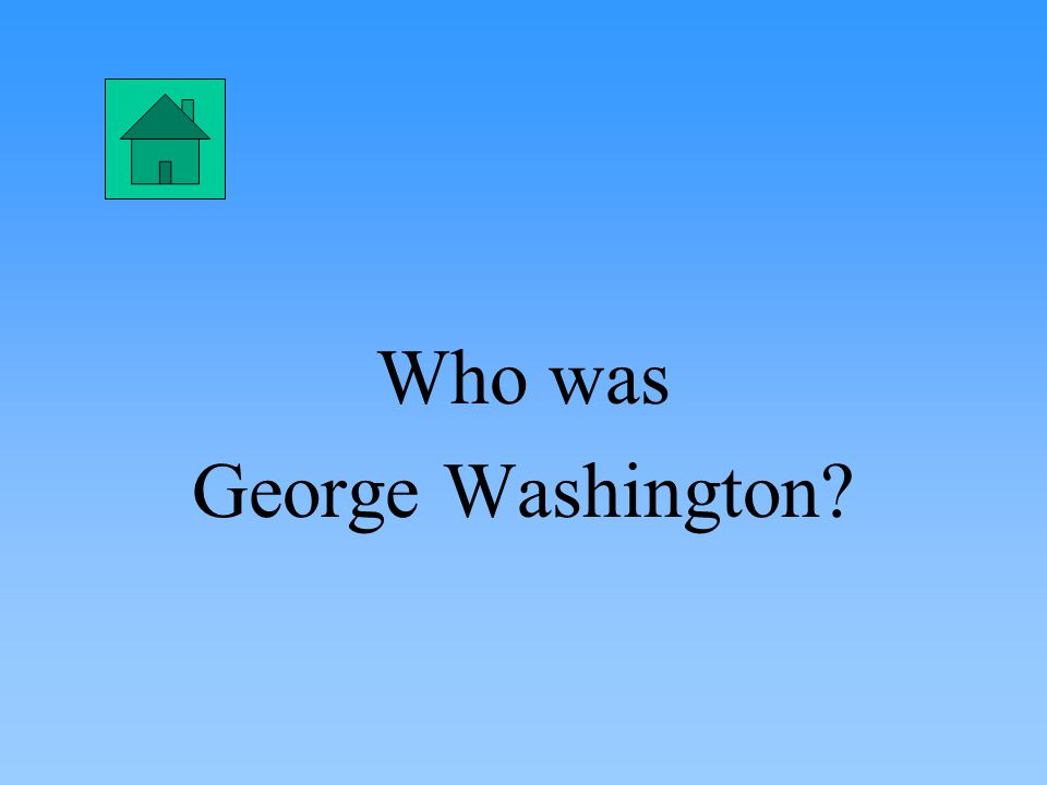 What was the House of Representatives?