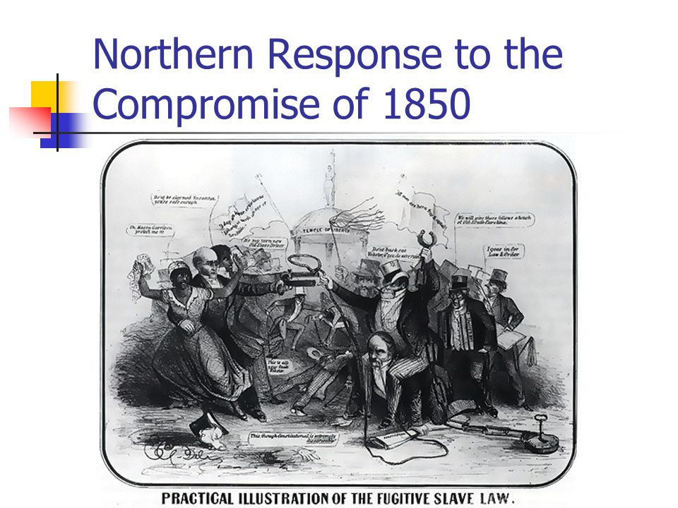 Northern Response to the Compromise of 1850