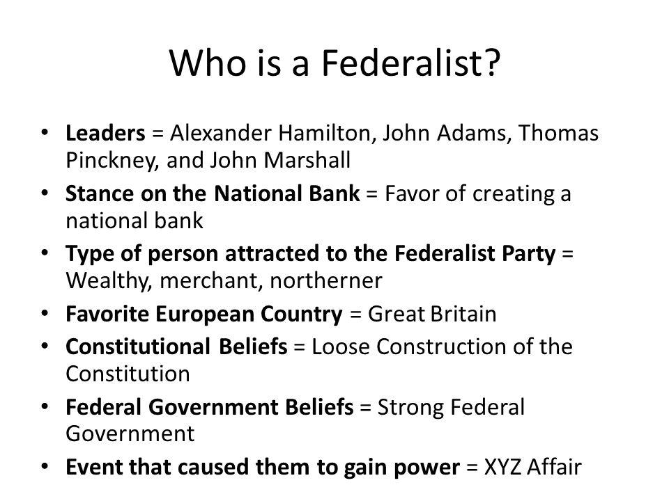 Who is a Democratic Republican.