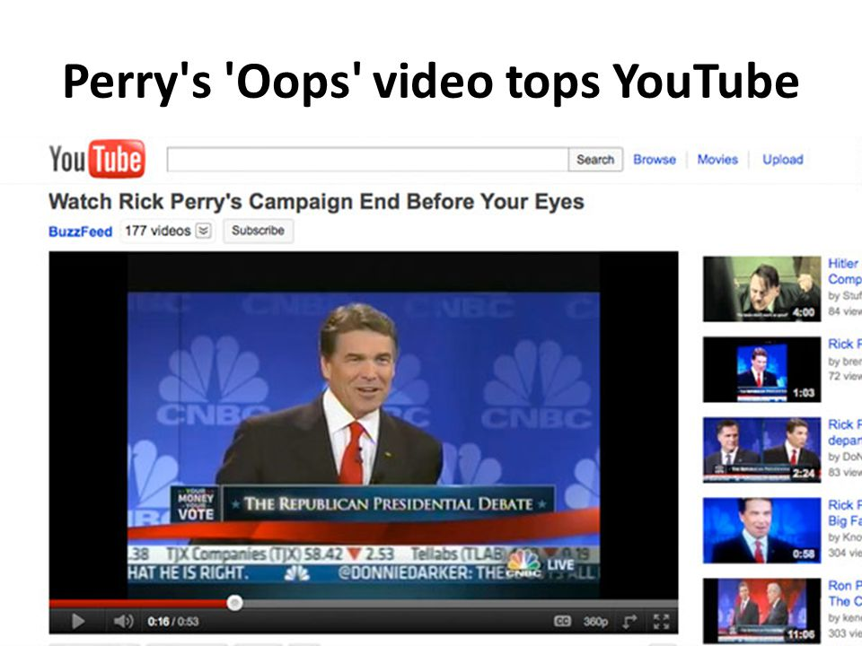 Perry s Oops video tops YouTube