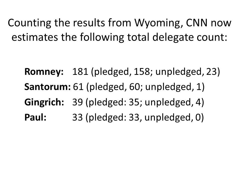Santorum wins Tennessee primary, CNN projects