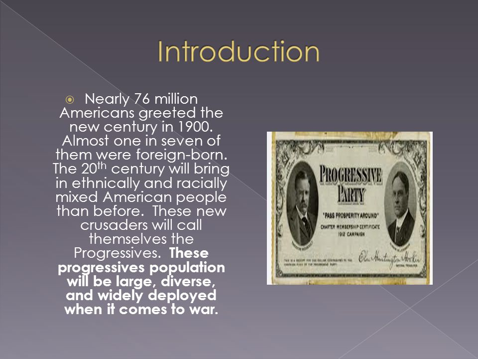  Nearly 76 million Americans greeted the new century in 1900.