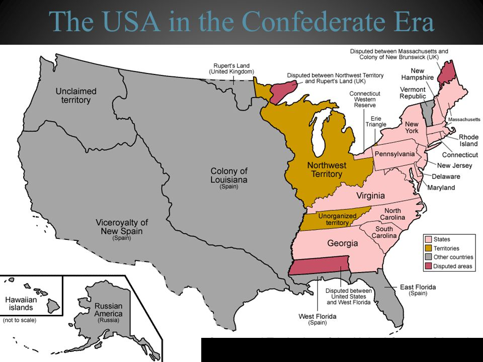 The USA in the Confederate Era