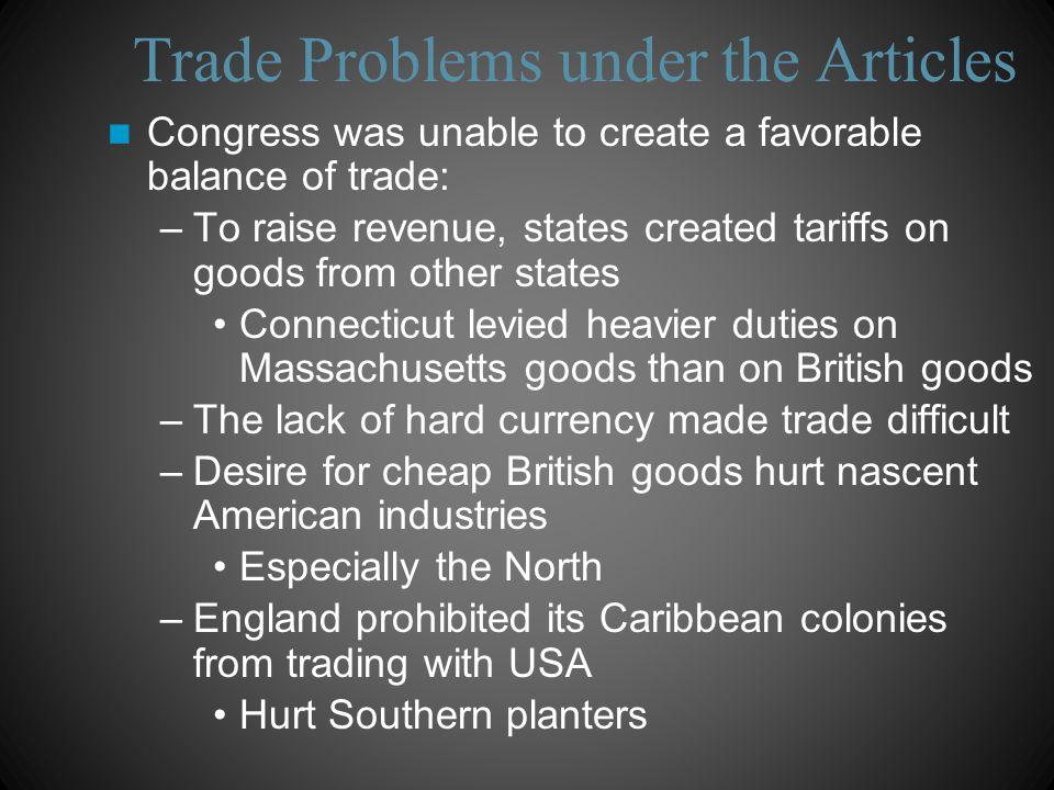 U.S. Trade with Britain, 1783-1789 Debt