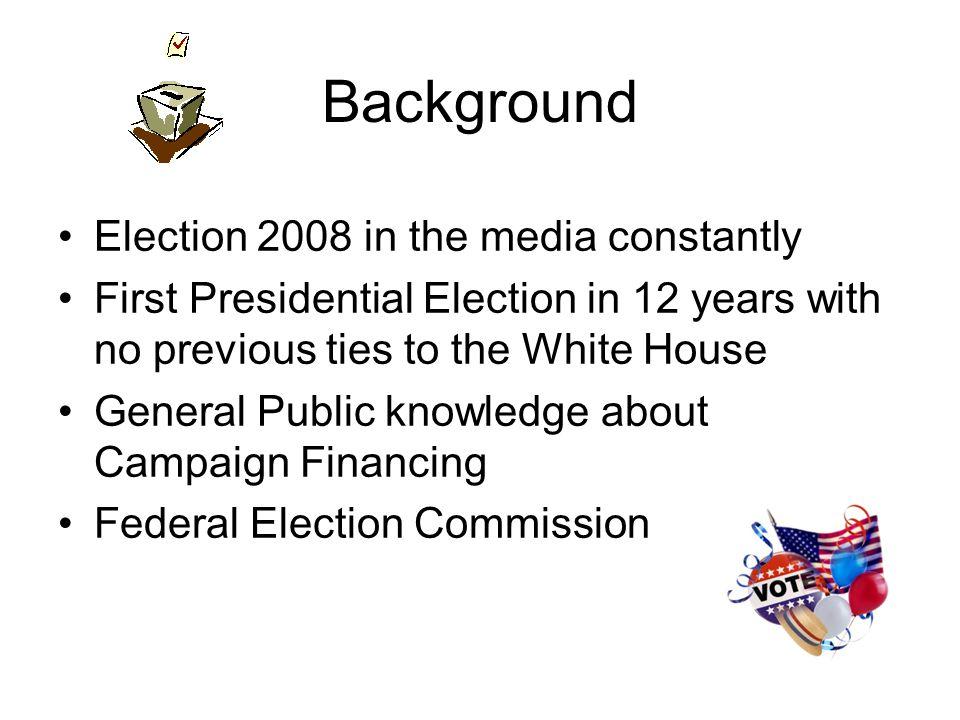Democratic Candidates 2008 Totals Clinton: 47,669,977 Obama: 42,953,612 Edwards: 18,213,607