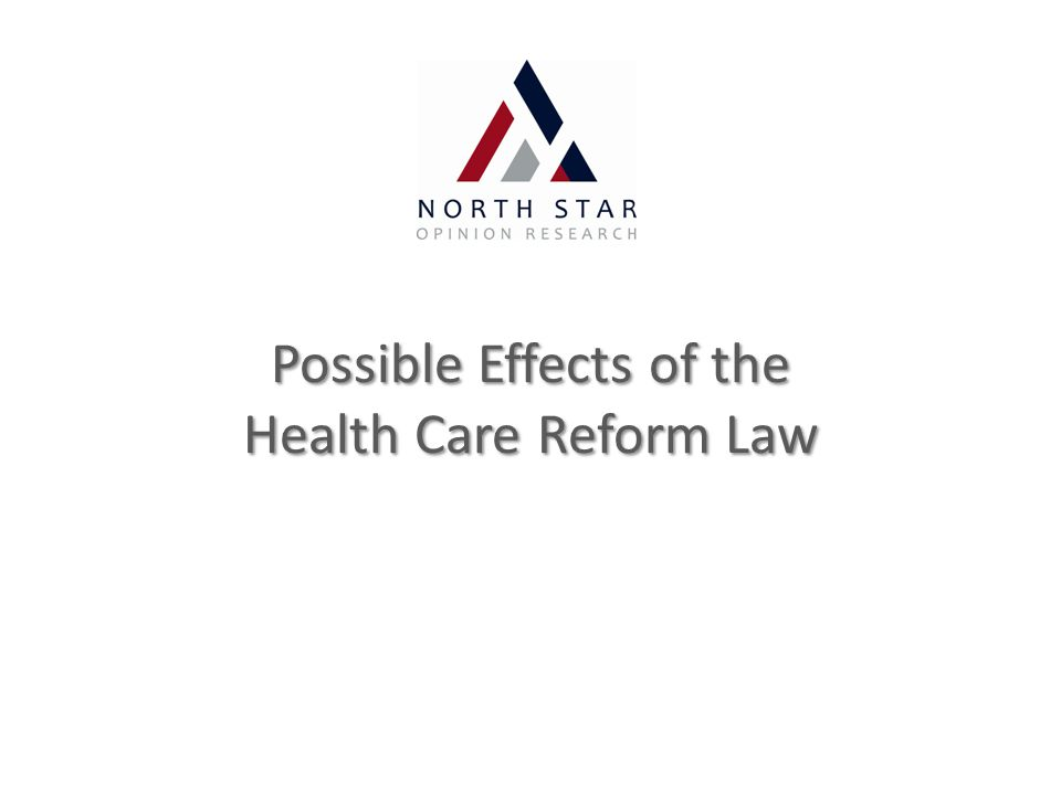 Possible Effects of the Health Care Reform Law