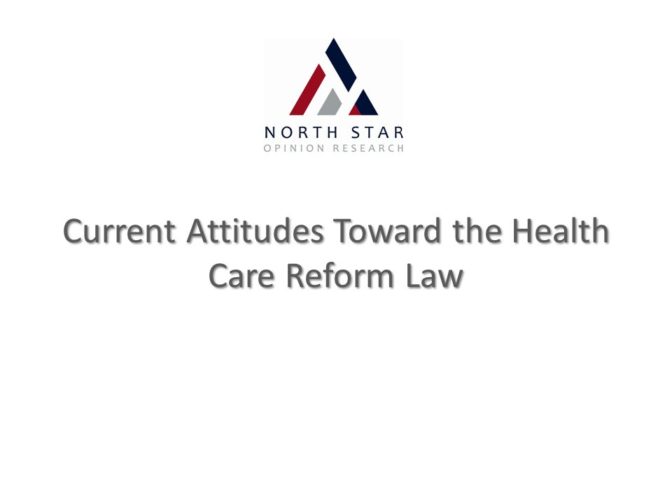 Current Attitudes Toward the Health Care Reform Law