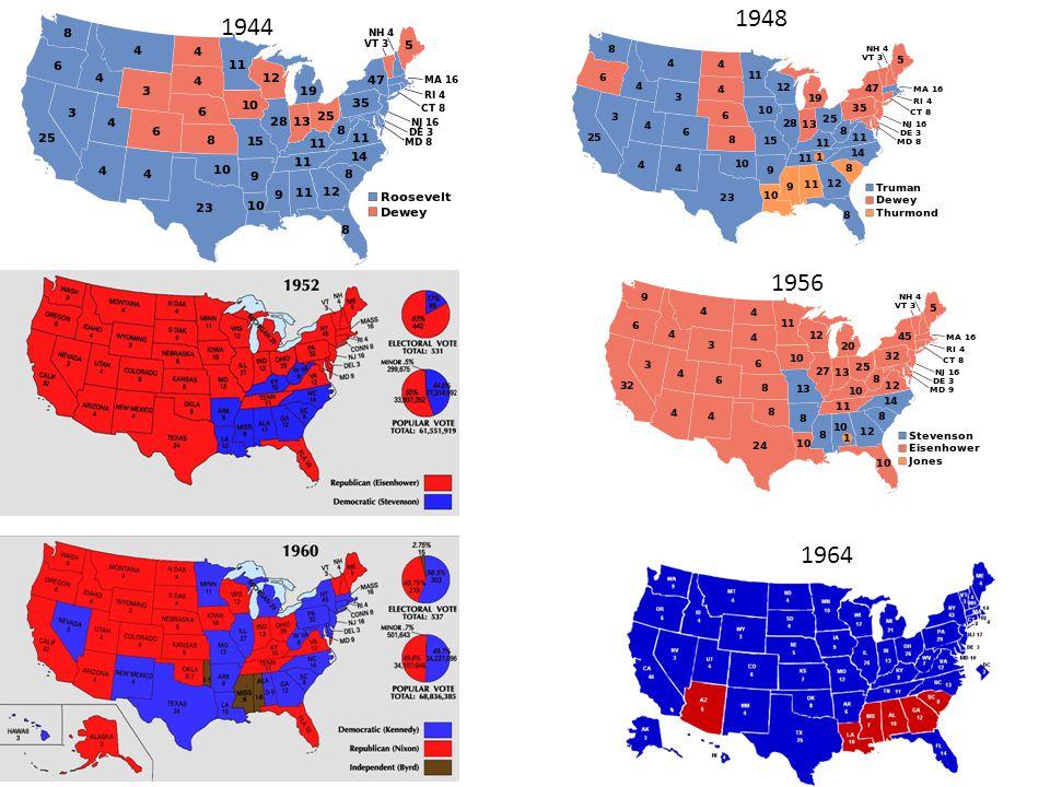 1944 1948 1956 1964