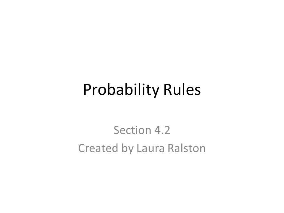 4 Basic Probability Rules Probability of any event E is a number (fraction or decimal) between and including 0 and 1 0 < P(E) < 1 If an event E cannot occur, its probability is 0 P(impossible event) =0