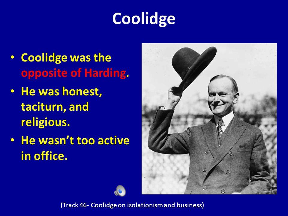 Calvin Coolidge Being Sworn In