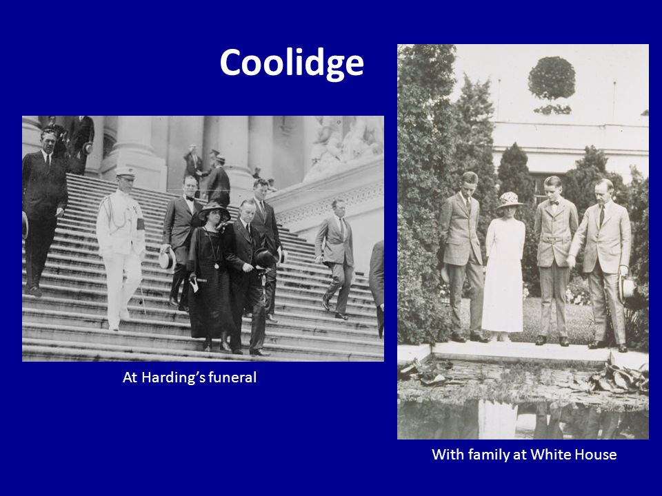 Coolidge with Transition Team