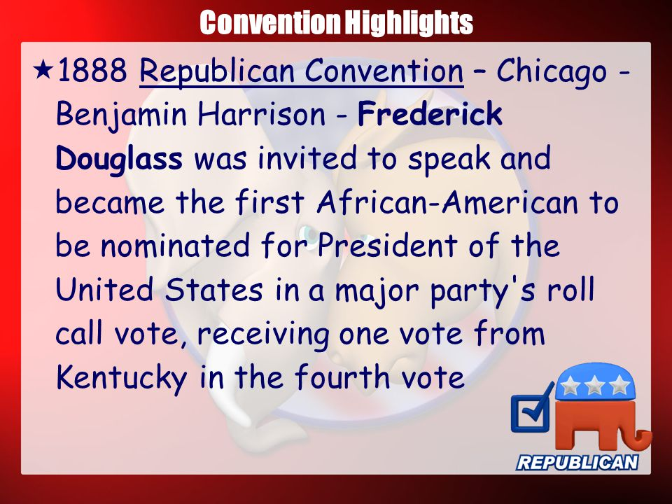 Convention Highlights  1868 Democratic Convention New York -- Horatio Seymour - Susan B.