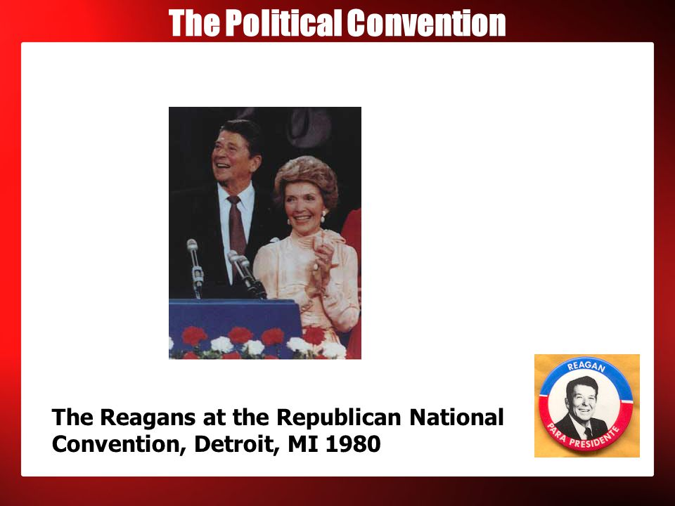 Convention Highlights  1888 Republican Convention – Chicago - Benjamin Harrison - Frederick Douglass was invited to speak and became the first African-American to be nominated for President of the United States in a major party s roll call vote, receiving one vote from Kentucky in the fourth vote
