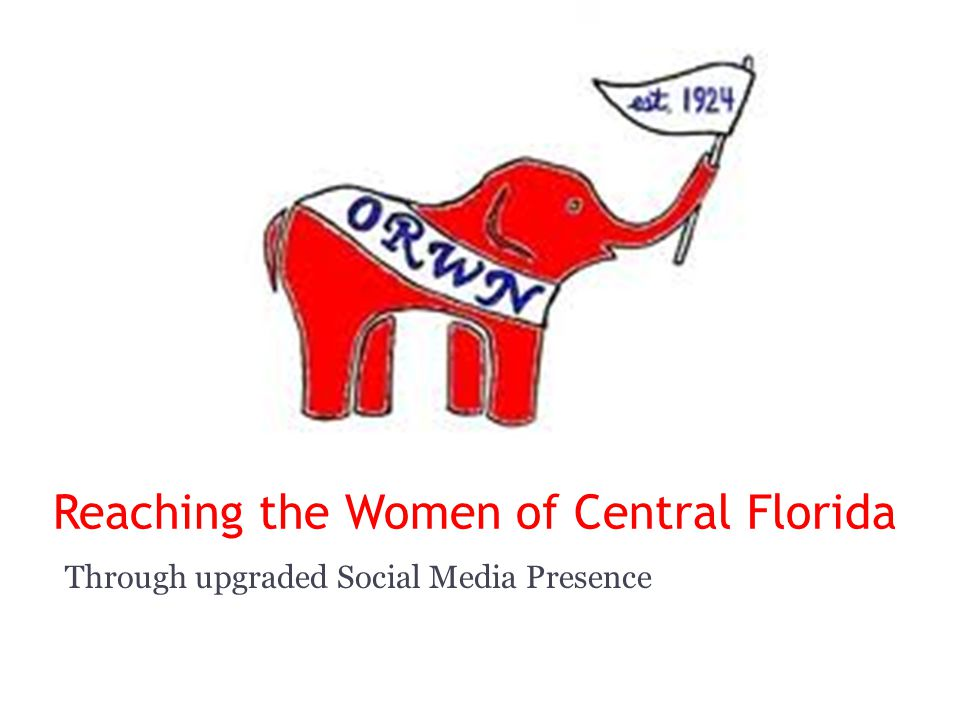 Reaching the Women of Central Florida Through upgraded Social Media Presence