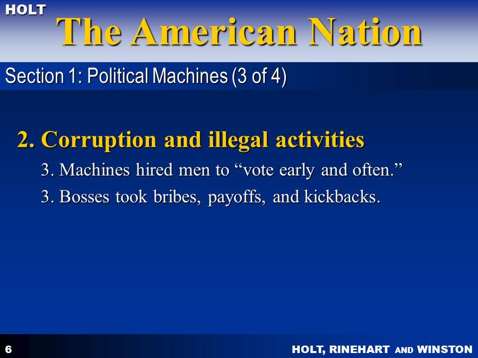 HOLT, RINEHART AND WINSTON The American Nation HOLT 2.