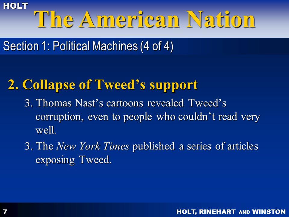 HOLT, RINEHART AND WINSTON The American Nation HOLT 18 2.