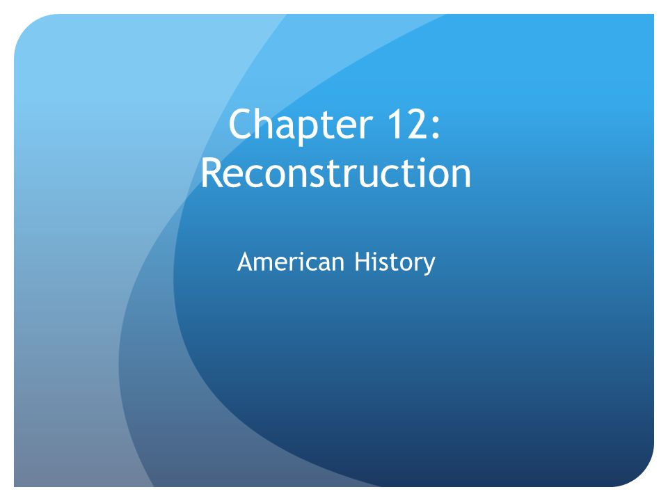 Plans begin to unfold The president and Congress grappled with the difficult tasks of Reconstruction, or rebuilding the country after the Civil War plans began right after the Civil War began In 1863, Lincoln issued the Proclamation of Amnesty and Reconstruction offered general amnesty, or pardon for all Southerners who took loyalty to the U.S.