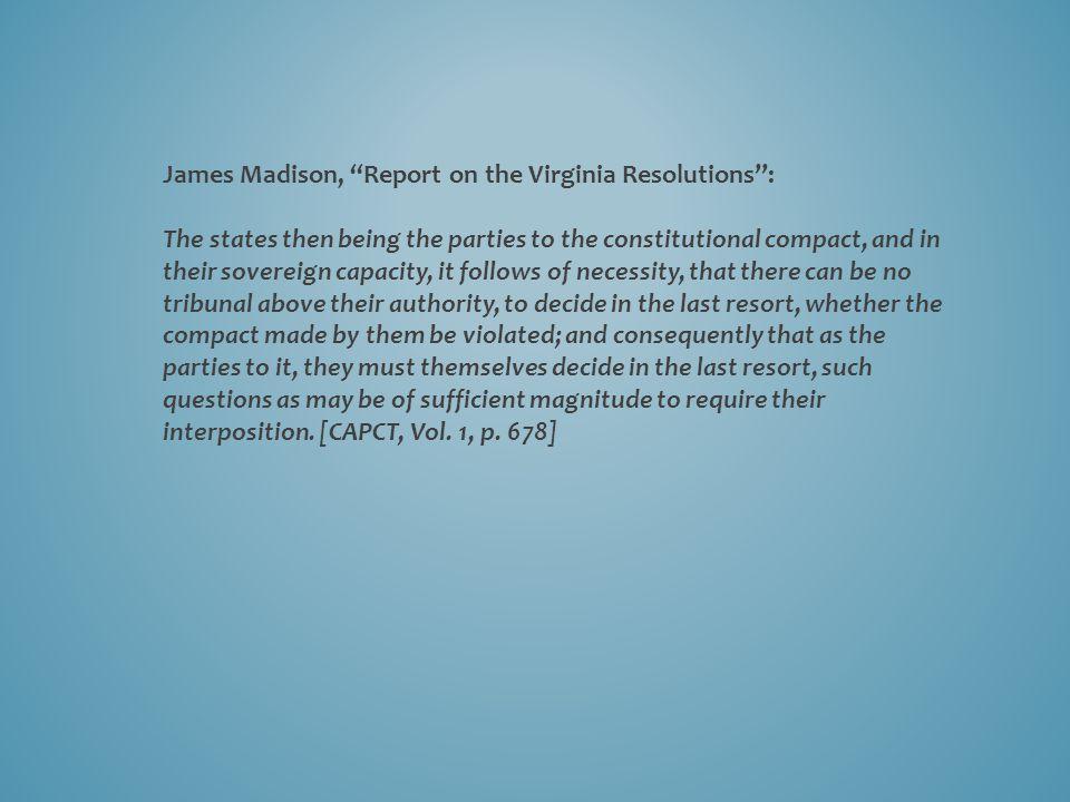 John Adams to Thomas Jefferson, 9 July 1813: But who are these aristoi .