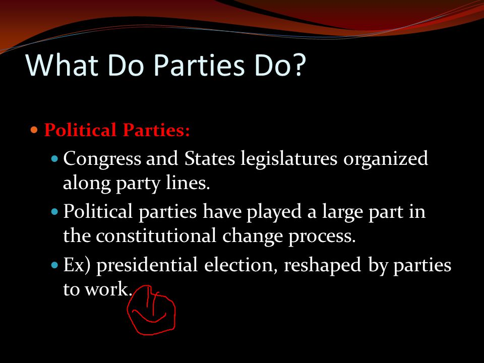 What Do Parties Do.